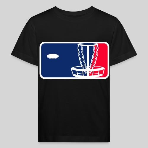 Major League Frisbeegolf - Lasten luonnonmukainen t-paita