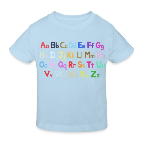 alphabet 2 - Kids' Organic T-Shirt