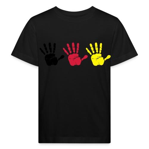 Handabdruck Trio - Kinder Bio-T-Shirt