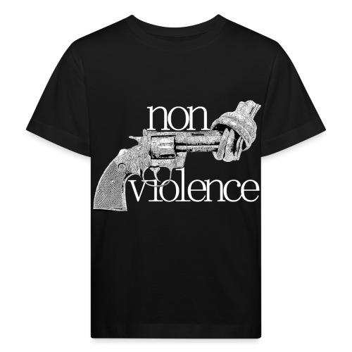 NON-VIOLENCE - Ekologisk T-shirt barn