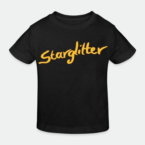 Starglitter - Lettering - Kids' Organic T-Shirt