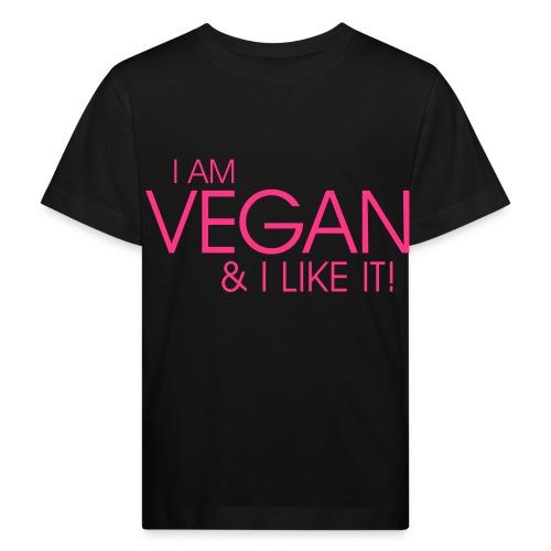 I am vegan and I like it - Kinder Bio-T-Shirt