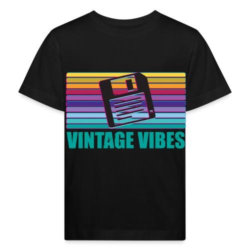 Floppy Disk magnetischer Datenträger - Kinder Bio-T-Shirt