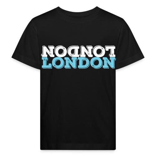 London Souvenir - Upside Down London - Kinder Bio-T-Shirt