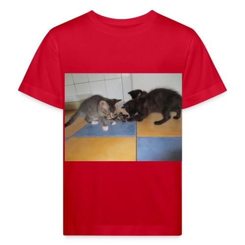 Basti und franky 065 JPG - Kinder Bio-T-Shirt