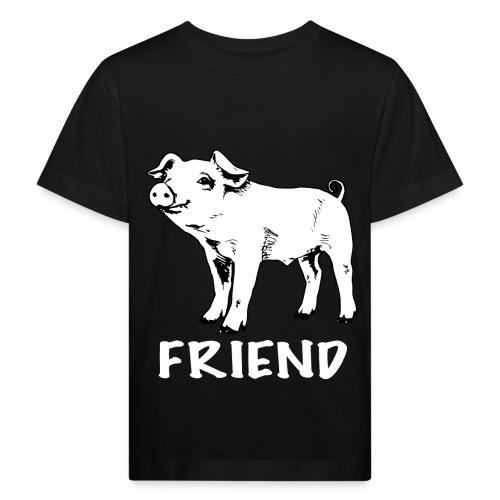 kids merch piglet bw - Kids' Organic T-Shirt