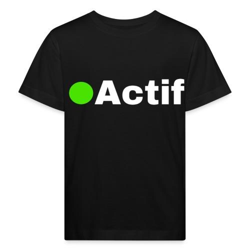 actif messenger - T-shirt bio Enfant