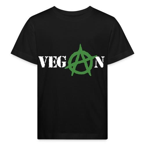 vegan anarchy - Maglietta ecologica per bambini