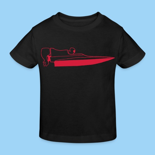Powerboat GT30/GT15 Red - Ekologisk T-shirt barn