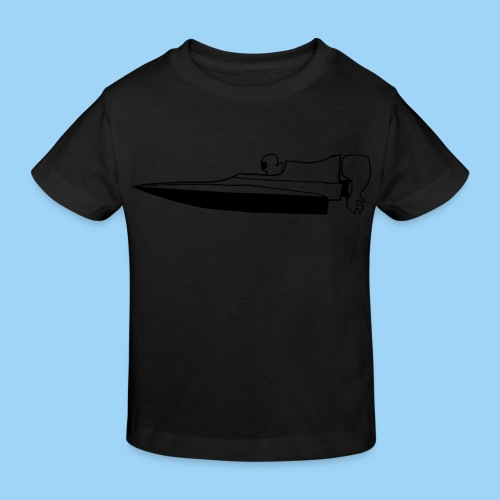 Powerboat GT30/GT15 Black flip - Ekologisk T-shirt barn