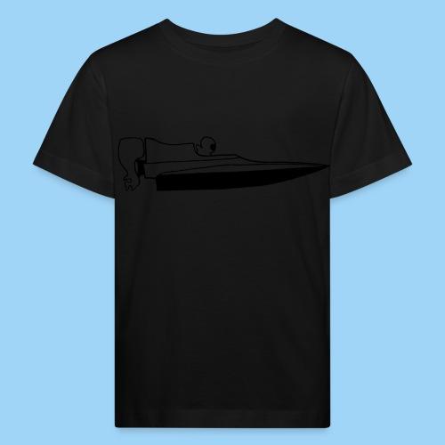 Powerboat GT30/GT15 Black - Ekologisk T-shirt barn