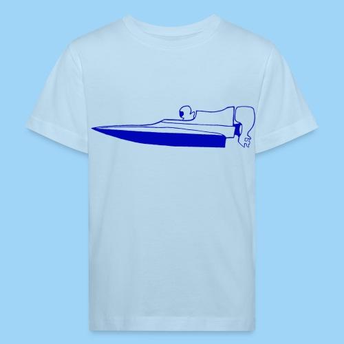 Powerboat GT30/GT15 Blue flip - Ekologisk T-shirt barn