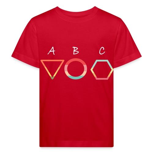 Abc t shirt - Ekologisk T-shirt barn