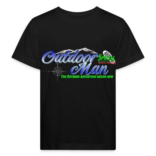 Special Edition Outdoor Man Wandern Vatertag - Kinder Bio-T-Shirt