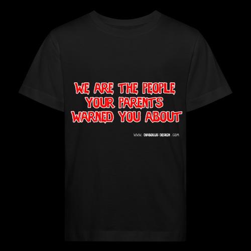 Diabolus Motto - Kids' Organic T-Shirt
