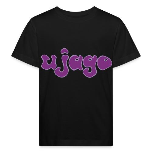ujago lila - Kinder Bio-T-Shirt