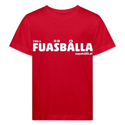 supatrüfö fuasballa - Kinder Bio-T-Shirt