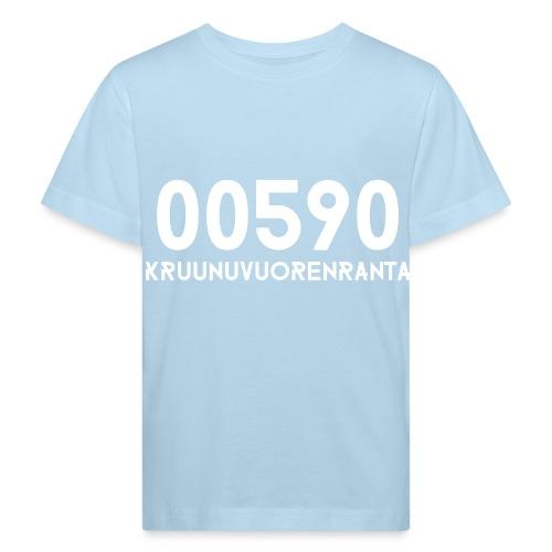 00590 KRUUNUVUORENRANTA - Lasten luonnonmukainen t-paita