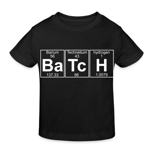 Ba-Tc-H (batch) - Full - Kids' Organic T-Shirt