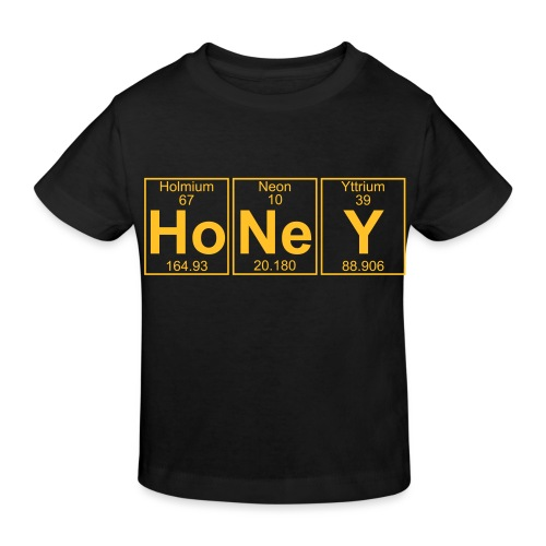 Ho-Ne-Y (honey) - Full - Kids' Organic T-Shirt