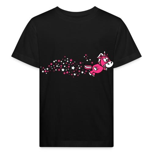 Pferdchen Sternenstaub - Kinder Bio-T-Shirt