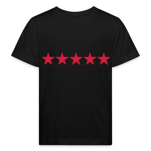 Rating stars - Lasten luonnonmukainen t-paita
