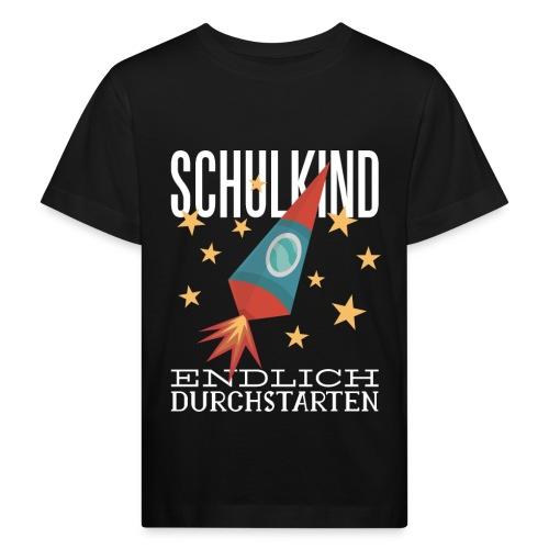 Schulkind Endlich Durchstarten - Kinder Bio-T-Shirt