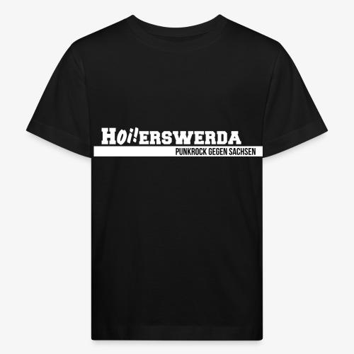 Logo Hoierswerda transparent - Kinder Bio-T-Shirt