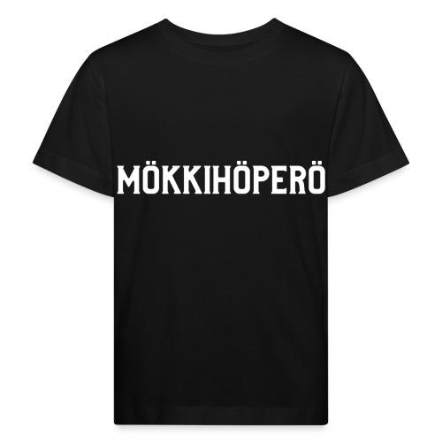 mokkihopero - Lasten luonnonmukainen t-paita