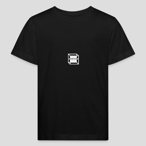 Squared Apparel White Logo - Kids' Organic T-Shirt