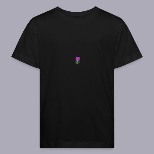 Landryn Design - Pink rose - Kids' Organic T-Shirt