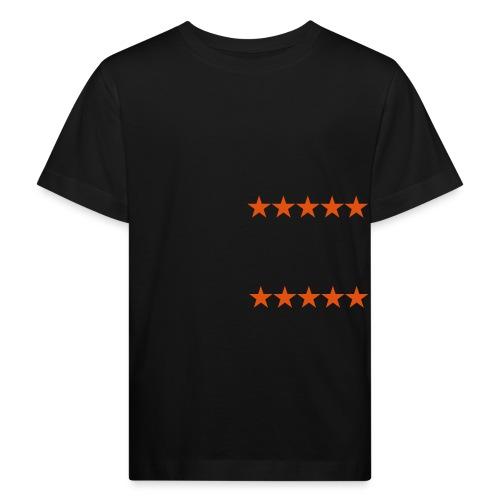 ratingstars - Lasten luonnonmukainen t-paita