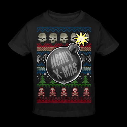 Heavy X-Mas Christbaumkugel-Bombe - Kinder Bio-T-Shirt
