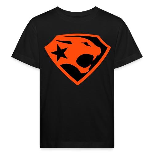 SUPER BLACK PANTHER - Kinder Bio-T-Shirt