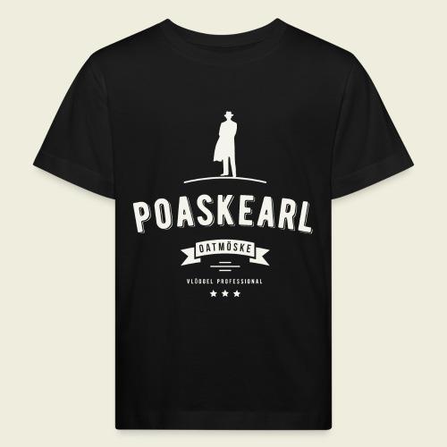 Poaskearl Oatmöske - Kinderen Bio-T-shirt