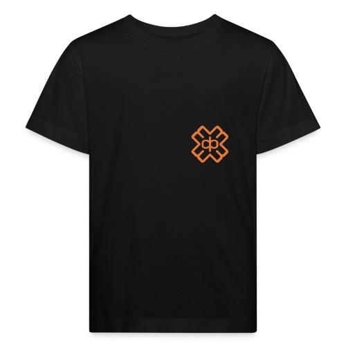d3ep-logo-orange - Kids' Organic T-Shirt