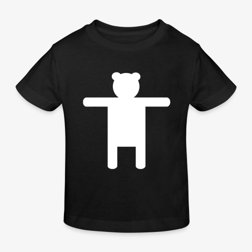 Ippis Entertainment, White - Lasten luonnonmukainen t-paita