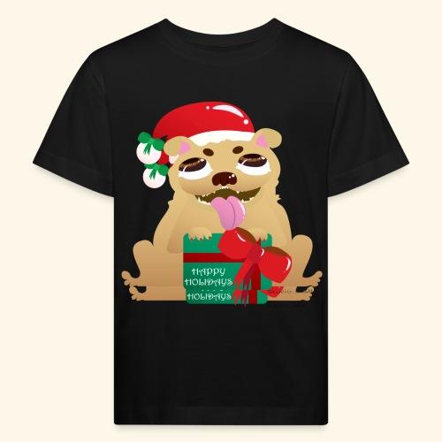 Pug-liday! - Kids' Organic T-Shirt