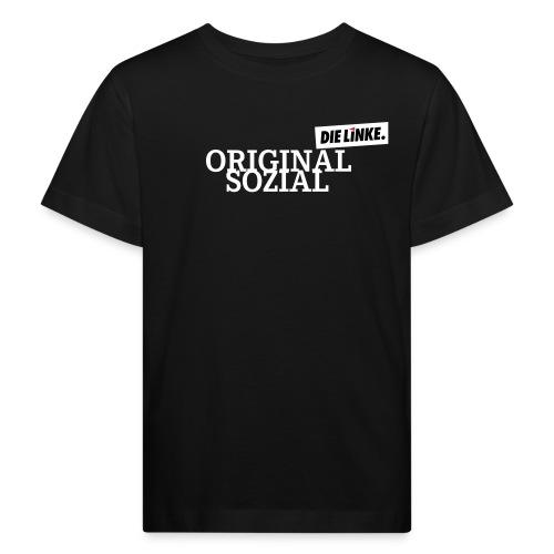 Schriftzug_original - Kinder Bio-T-Shirt