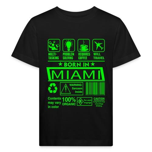 Born in Miami Florida - T-shirt bio Enfant