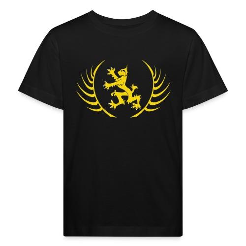 Schola Logo T Shirt transparent v2 png - Kids' Organic T-Shirt