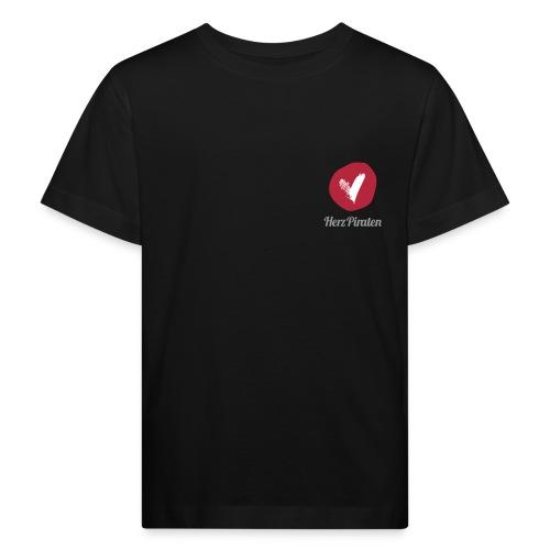 130318_Herzpiraten-Logo_R - Kinder Bio-T-Shirt