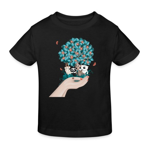 Zukunft - Save the Planet - Kinder Bio-T-Shirt