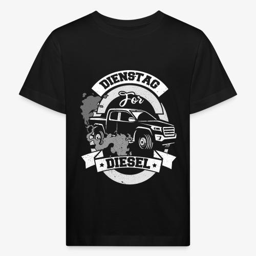 Dienstag for Diesel Fridays for Hubraum Klimakrise - Kinder Bio-T-Shirt