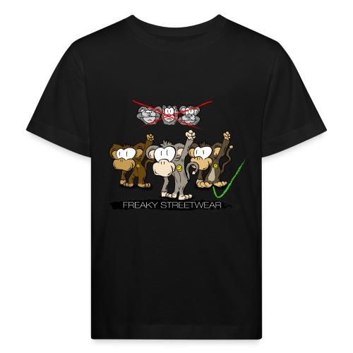 Protest-Äffchen 2 - Kinder Bio-T-Shirt