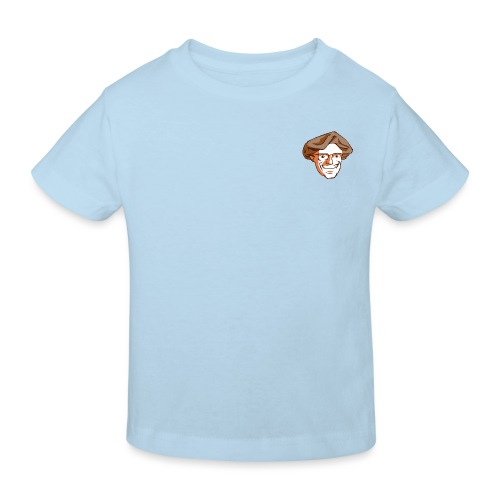 Kopf1-Baumstriezel_RGB - Kinder Bio-T-Shirt