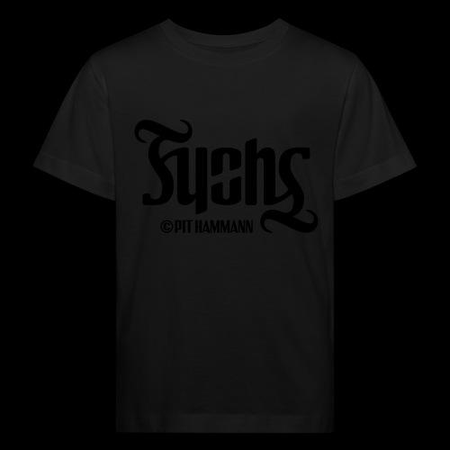 Ambigramm Fuchs 01 Pit Hammann - Kinder Bio-T-Shirt