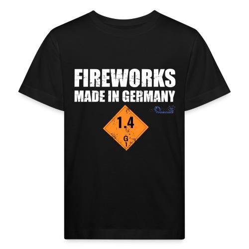 Feuerwerk aus Deutschland Pyrotechnik - Kinder Bio-T-Shirt