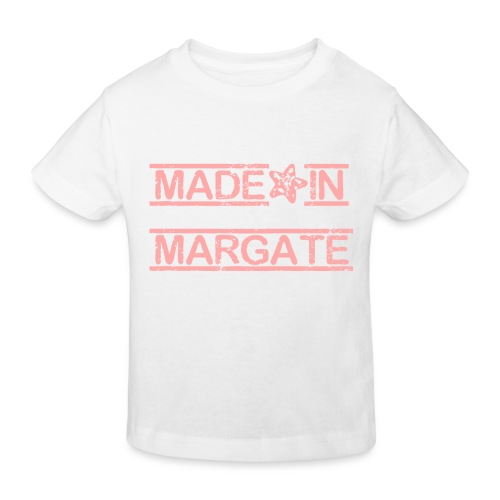 Made in Margate - Pink - Kids' Organic T-Shirt