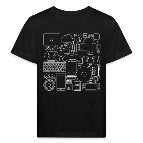 Kaufsucht - Kinder Bio-T-Shirt